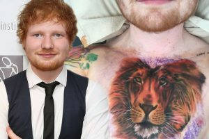 Ed Sheeran net worth , Tattoos